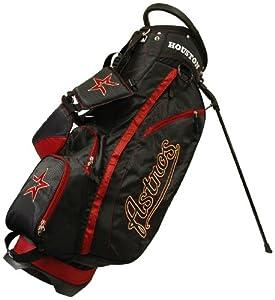 MLB Houston Astros Fairway Stand Golf Bag, Black by Team Golf