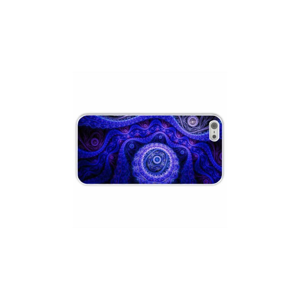 Custom Designer Apple Iphone 5/5S Abstract Artistic Of Chrismas Present White Case Cover For Everyone Cell Phones & Accessories