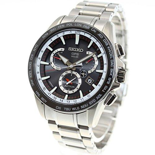 [アストロン]ASTRON 腕時計 ソーラーGPS衛星電波修正 サファイアガラ 10気圧防水 SBXB051 メンズ