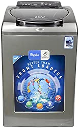 Whirlpool 360 WRD SR WS 80H Fully-automatic Top-loading Washing Machine (8 Kg, Graphite)