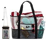 Aloha Sugar Beach Bag, Mesh Beach Bag and Beach Tote Bag
