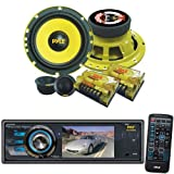 Pyle Vehicle Audio System for Car, Van, Truck, Mobile etc. - PLD33MU 3'' TFT/LCD Monitor DVD/VCD/MP3/MP4/CDR/SD/USB Player &