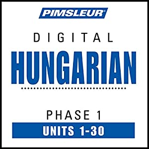 Hungarian Phase 1, Units 1-30 Speech