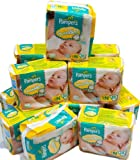 Pampers Swaddlers Newborn baby Diapers 240 count