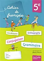 Cahier de français 5e - édition 2013