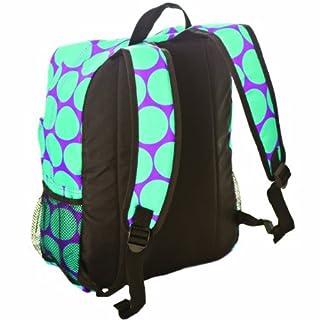 Wildkin Big Dots Aqua Crackerjack Backpack