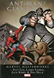 img - for Marvel Masterworks: Ant-Man/Giant-Man Volume 1 (Marvel Masterworks (Numbered)) book / textbook / text book