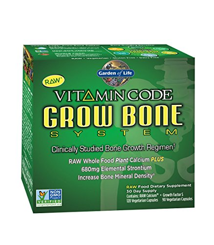 Garden of Life Vitamin Code Grow Bone System 30 day supply