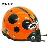 てんとう虫/Lady Bug◎キッズヘルメット☆キャラクターグッズ(子ども用ヘルメット)通販☆【オレンジ】