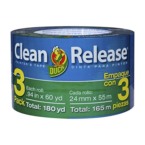 duck-brand-240180-clean-release-painters-tape-094-inches-by-60-yards-blue-3-pack-of-rolls