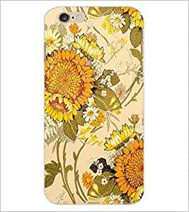PrintDhaba Floral Design D-1441 Back Case Cover for APPLE IPHONE 6S (Multi-Coloured)