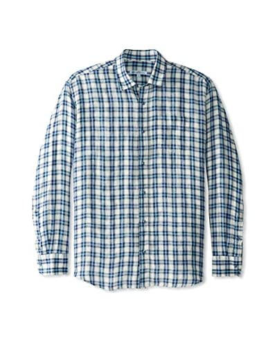 CaféBleu Men's Juanno Check Long Sleeve Shirt