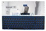 LENOVO Z570 B570 B570A B570G B575 V570 V570C KEYBOARD UK LAYOUT BLUE FRAME F26 sold by MEG4TEC