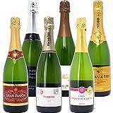 本格シャンパン製法の極上の泡6本セット((W0GX76SE))(750mlx6本ワインセット)