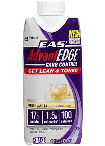 Eas Food Advantage Carb Control Ready to Drink Carton, French Vanilla, 4 Count (Eas Advantage Vanilla compare prices)