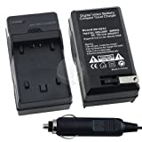 Sony NP-FH90 / NP-FH100 Premium Compatible Battery Charger Set for Sony DVD HandyCam DCR-DVD series