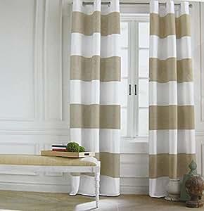 Amazon Com Tommy Hilfiger Cabana Stripes Curtains 2