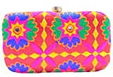 Purpledip Traditional Women's Clutch Multicolor(purse15a)