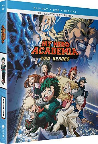 Blu-ray : My Hero Academia: Two Heroes (With DVD, Snap Case, Slipsleeve Packaging, 2 Pack, Digital Copy)