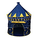 CellDeal Outdoor Pop Up Princess Castle Play Tent Blue