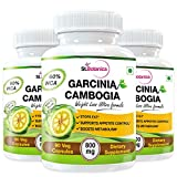 StBotanica Garcinia Cambogia Ultra For Weight Loss - 100% Pure 800mg Extract - 90 Veg Capsules - Buy 2 Get 1 Free