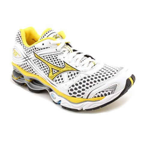 Mizuno Wave Creation 13 Womens Size 6.5 White Mesh Running Shoes