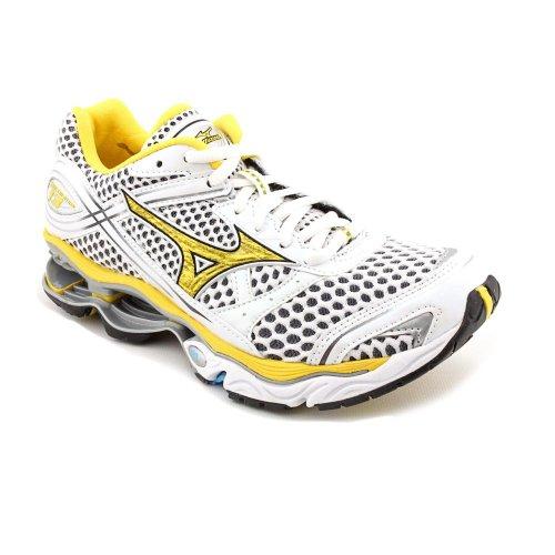 Mizuno Wave Creation 13 Womens Size 6.5 White Mesh Running Shoes