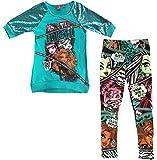 Monster High Girls' Hatchi Sequin Tunic and Legging Set