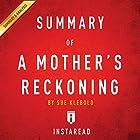 Summary of A Mother's Reckoning: By Sue Klebold | Includes Analysis Hörbuch von  Instaread Gesprochen von: Sam Scholl