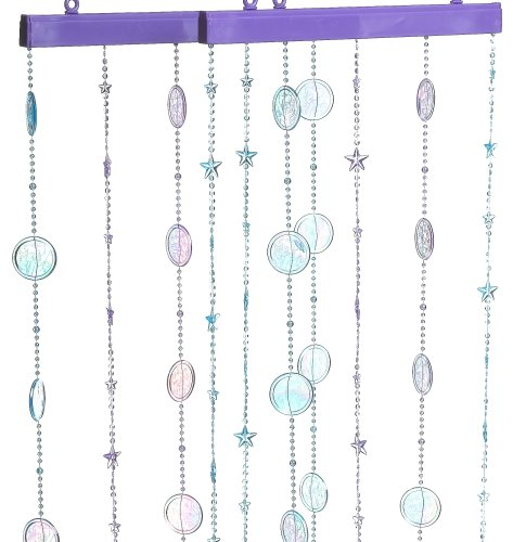 Amazon.com: 2 X PURPLE CLEAR BEADED CURTAIN TIE BACKS: Everything Else