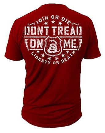 Dont tread on me brand fire house t shirt dtom brand for On fire brand t shirts