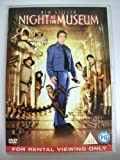 Night at the Museum (Rental Copy)(DVD)(Region 2, PAL)