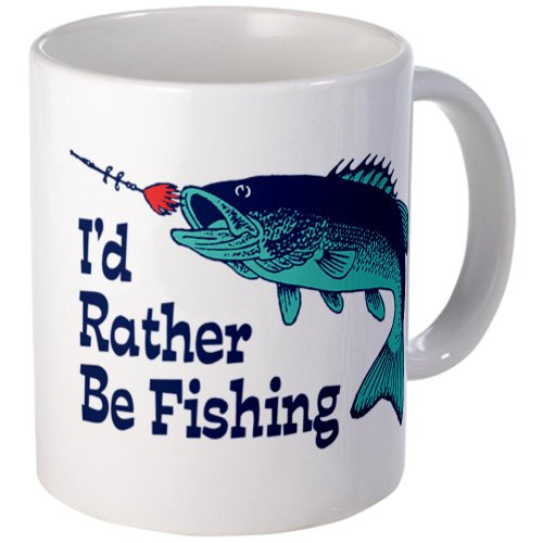 Funny Fishing Mug Mug By Cafepress