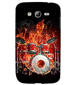 printtech Skeleton Music Orchestra Back Case Cover for Samsung Galaxy Grand i9080 / Samsung Galaxy Grand i9082