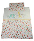 Lollipop Lane Tiddly Wink Safari Duvet Cover and P/Case Set