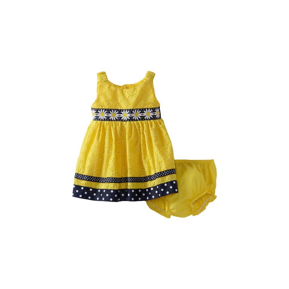 Sweet Heart Rose Baby Girls Daisy Eyelet Dress