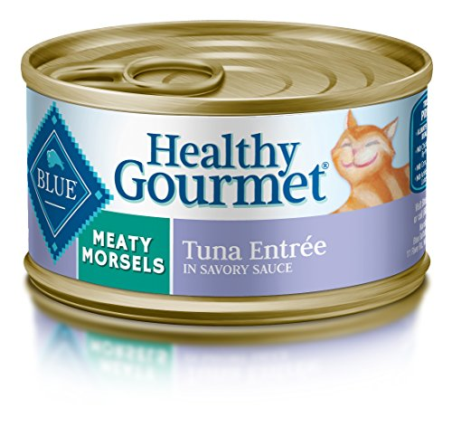 BLUE Buffalo Healthy Gourmet Meaty Morsels Tuna Entrée For Adult Cats
