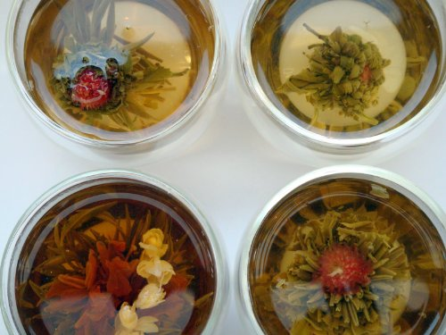 Heavenly Tea Leaves Flowering Tea Gift Set - 8 Count