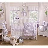 Papillon 4 Piece Baby Crib Bedding Set by Petit Tresor