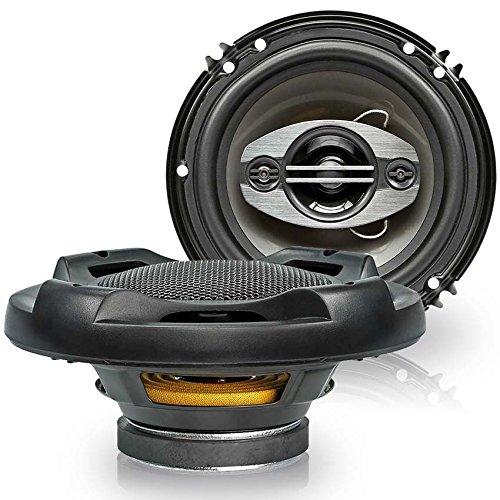 Upgrade-4-Wege-Koaxial-Quadaxial-165-mm-LautsprecherBoxen-fr-Audi-A1-ab-10-Seiten-Heckbereich