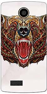 DigiPrints Designer Back Cover for Lyf Flame 7-Multicolor