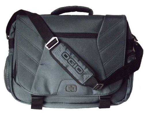 Ogio Elgin 17 Laptop Notebook Computer Messenger Bag Grey Chemosenang