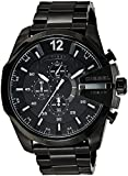 Diesel Herren-Armbanduhr XL Mega Chief Chronograph Quarz Edelstahl beschichtet DZ4283
