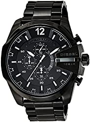 Diesel luminescent hands Analog Black Dial Mens Watch - DZ4283