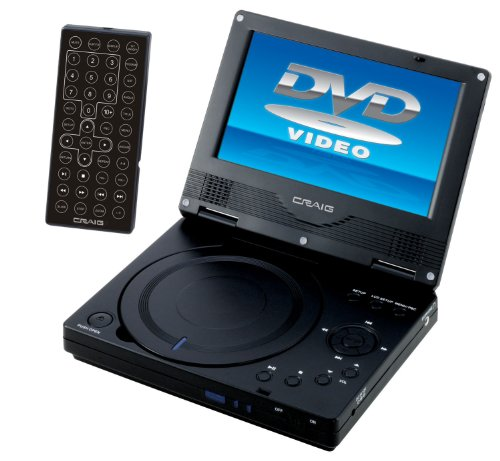 Craig 7-Inch Portable DVD/CD