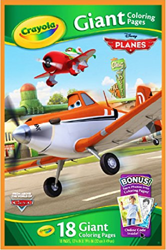 Disney Planes Crayola 18 Giant Coloring Pages