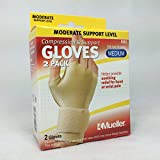 Mueller Compression Gloves - Beige Small