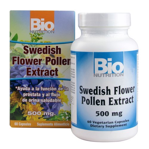 Bio Nutrition Swedish Flower Pollen Extract, 500 Mg, 60 Count by Bio Nutrition (Standardized Pollen Extract compare prices)