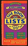 The People's Almanac Presents the Book of Lists/the '90s Edition (0316920797) by David Wallechinsky