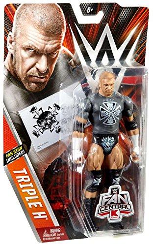 WWE Wrestling Fan Central Triple H Exclusive Action Figure